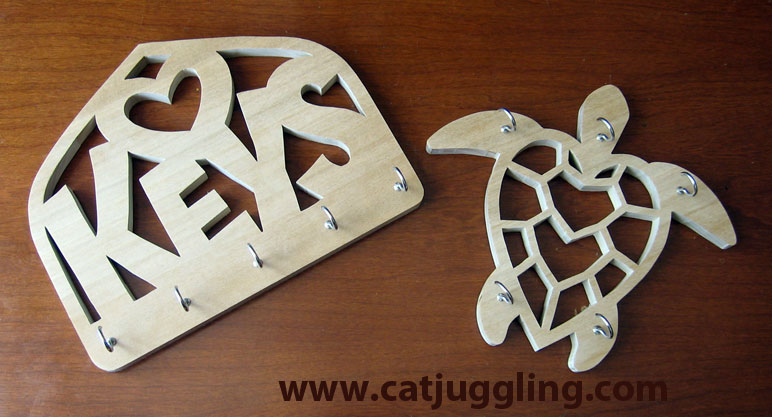 New Scroll Saw Patterns For Hanging Keys And Jewelry Catjuggling Amazing Scroll Saw Patterns