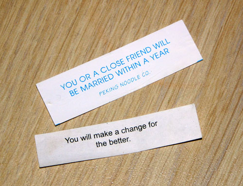 Fortune Cookie Messages