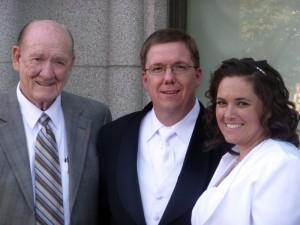 Dad, Russ & Cami