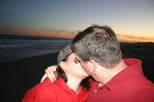 Kiss on the Beach