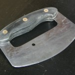 Finished ulu after shaping handle