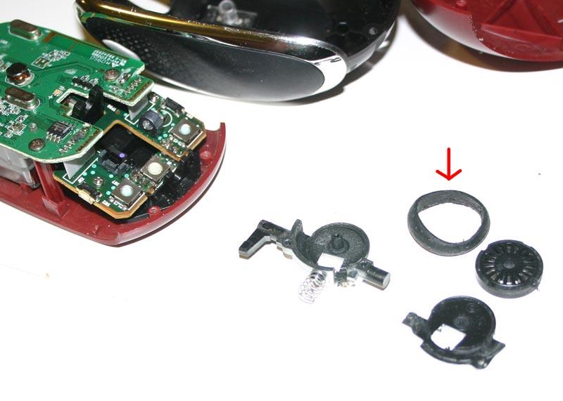Repair Defective Wheel On Microsoft Mobile Mouse 6000 Catjuggling Com