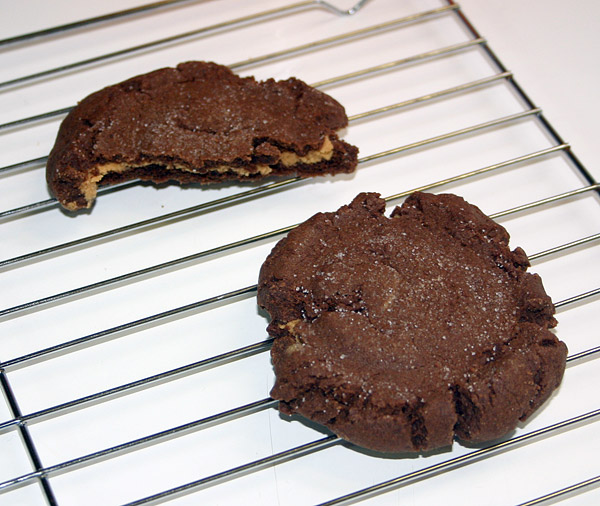 Magic middles cookies