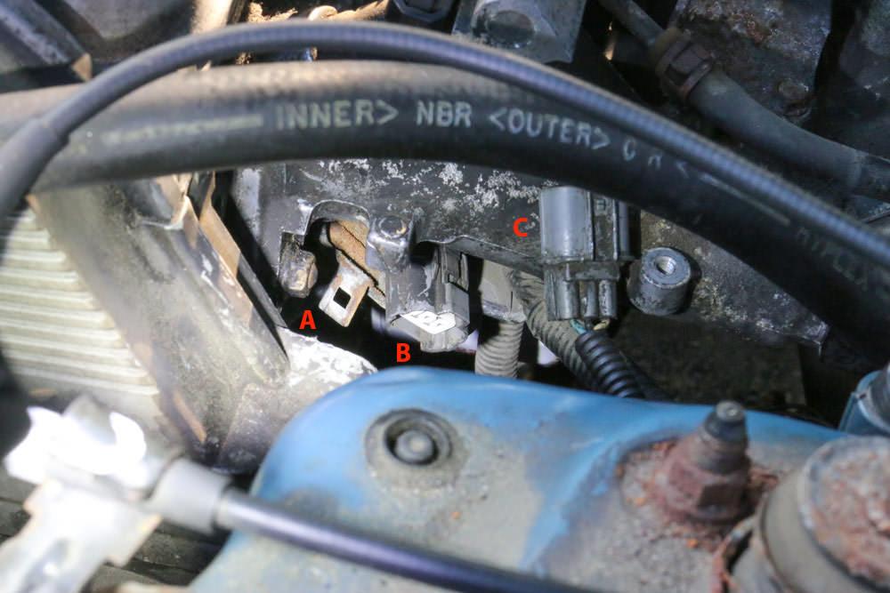 Honda civic u codes p and p u wiring harness damaged